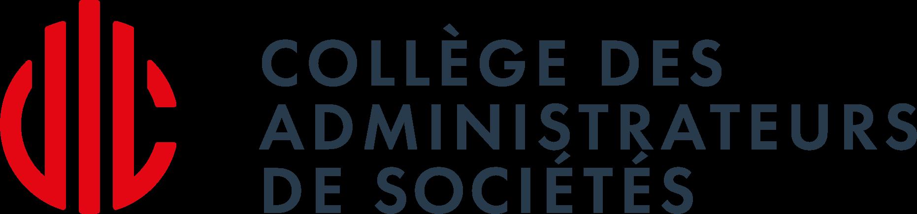 Logo Collège des administrateurs de sociétés