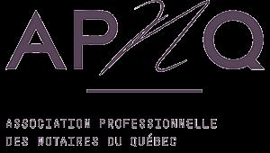 Logo APNQ association professionnelle des notaires du Québec