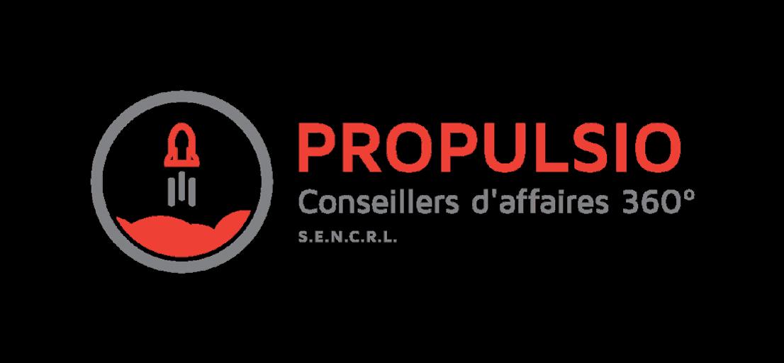 Logo Propulsio Conseillers d'affaires 360°
